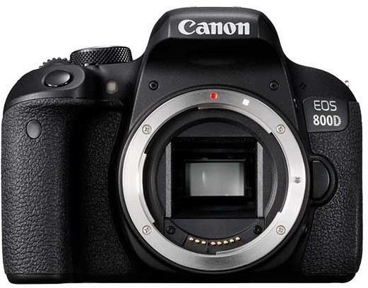 Canon EOS 800D + objektiv 18-55mm IS STM