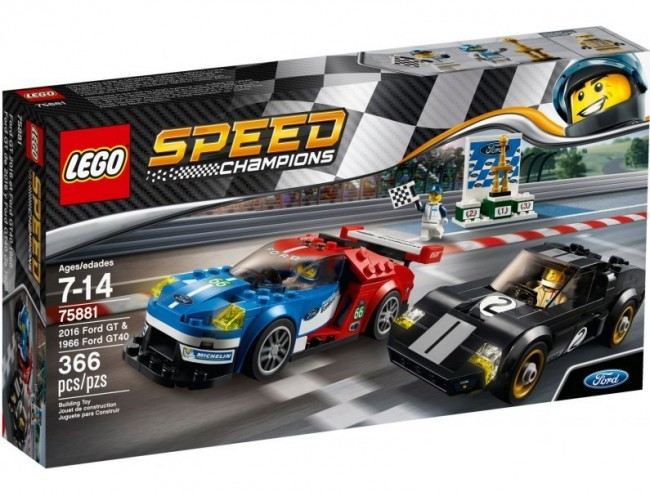 LEGO Speed Champion 2016 Ford GT & 1966 Ford GT40 75881
