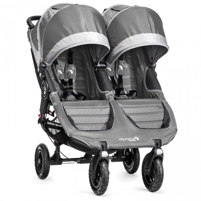 Baby Jogger City Mini GT dvojitý Steel Gray 371707
