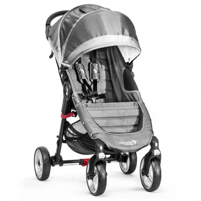 Baby Jogger City Mini 4W Steel Gray 357311