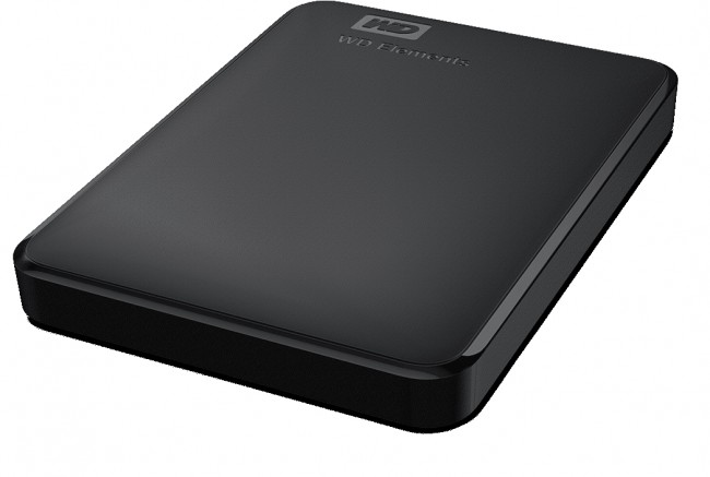 WD Elements Portable 500GB, WDBUZG5000ABK-EESN
