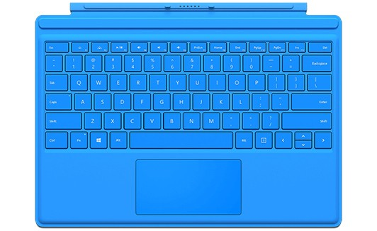 Type Cover pro Surface Pro 4